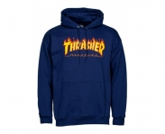 Thrasher sweat c/ capuz flame logo