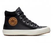 Converse sapatilha all star chuck taylor boot hi jr