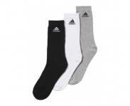 Adidas meias pack3 performance crew thin