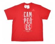 adidas t-shirt oficial s.l.benfica champions 2014/2015 jr