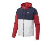 Reebok casaco training essentials windbreaker