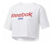 Reebok t-shirt linear logo crop w