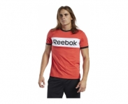 Reebok t-shirt training essencials linear logo