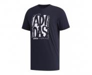Adidas t-shirt stamp graphic