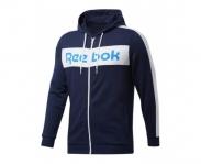Reebok casaco c/ capuz training essentials logo