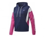 Reebok casaco c/ capuz training essentials logo w