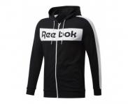Reebok casaco c/ capuz training essentials linear logo