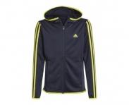 Adidas casaco c/ capuz d2m 3s boys