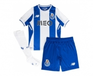 New balance mini kit oficial f.c.porto away 2017/2018 inf
