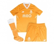 New balance mini kit oficial f.c.porto away 2017/2018 jr