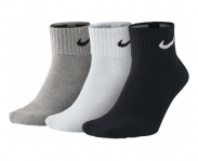 Nike pack 3 meias cushion quarter