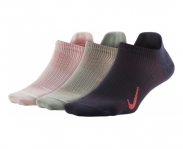 Nike meias pack 3 everyday plus lightweight w