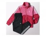 Adidas fato de treino separates closed polyester girl